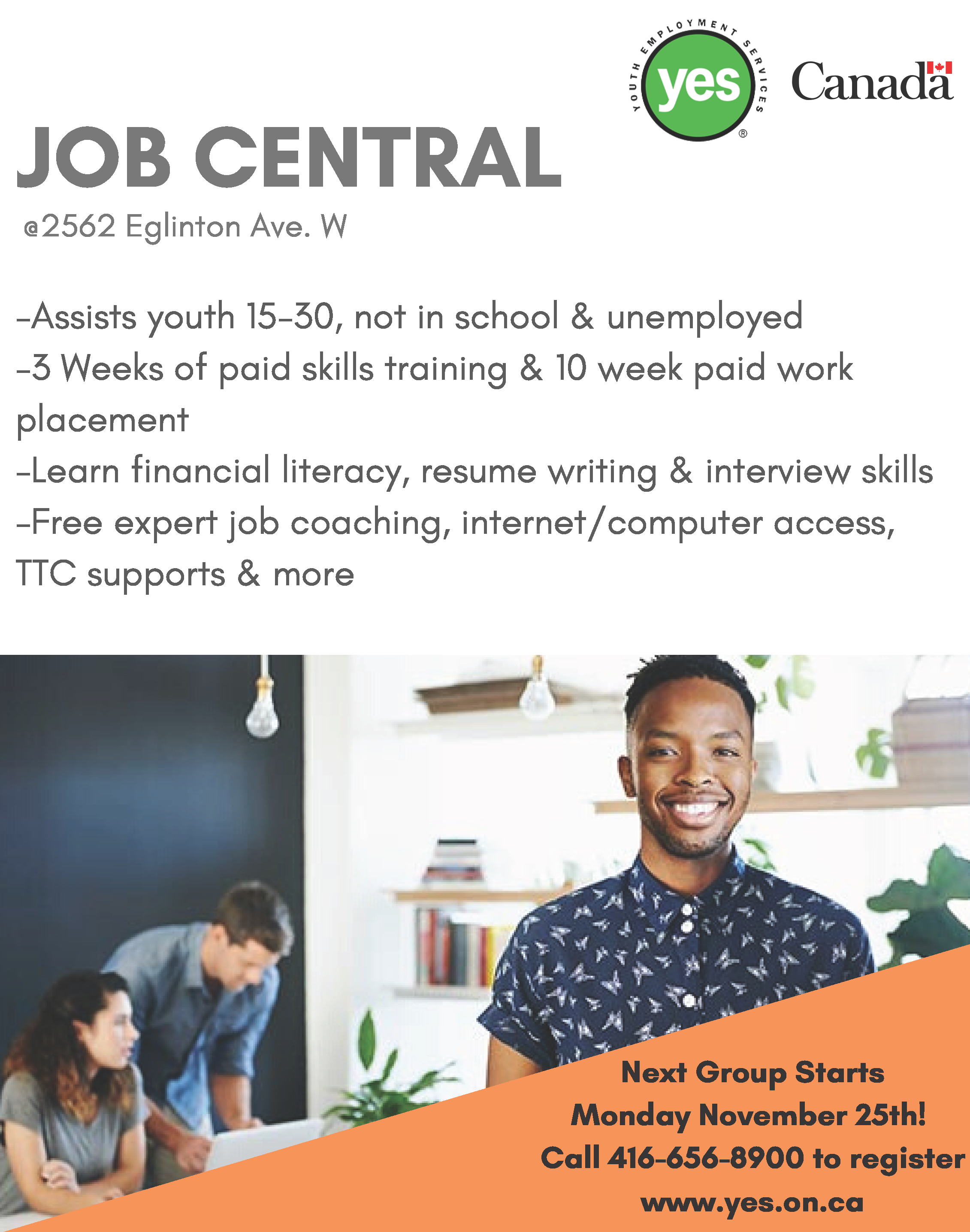 Job Central @ Youth Job Centre