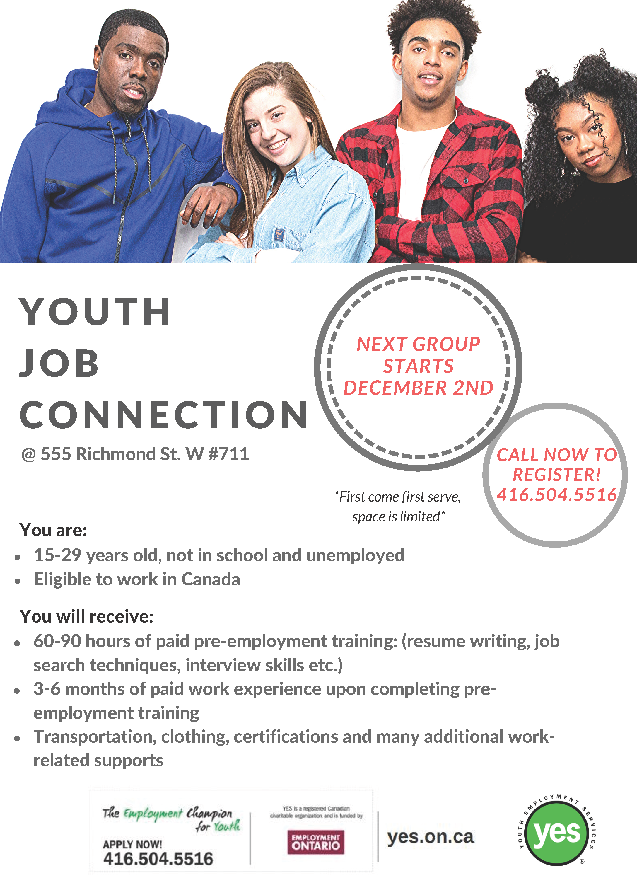Youth Job Connection @ YES