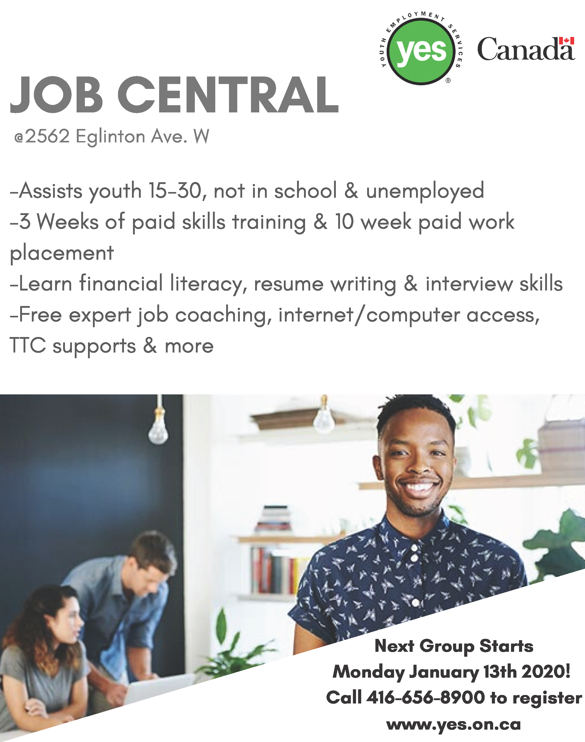 Job Central @ YES Youth Job Centre