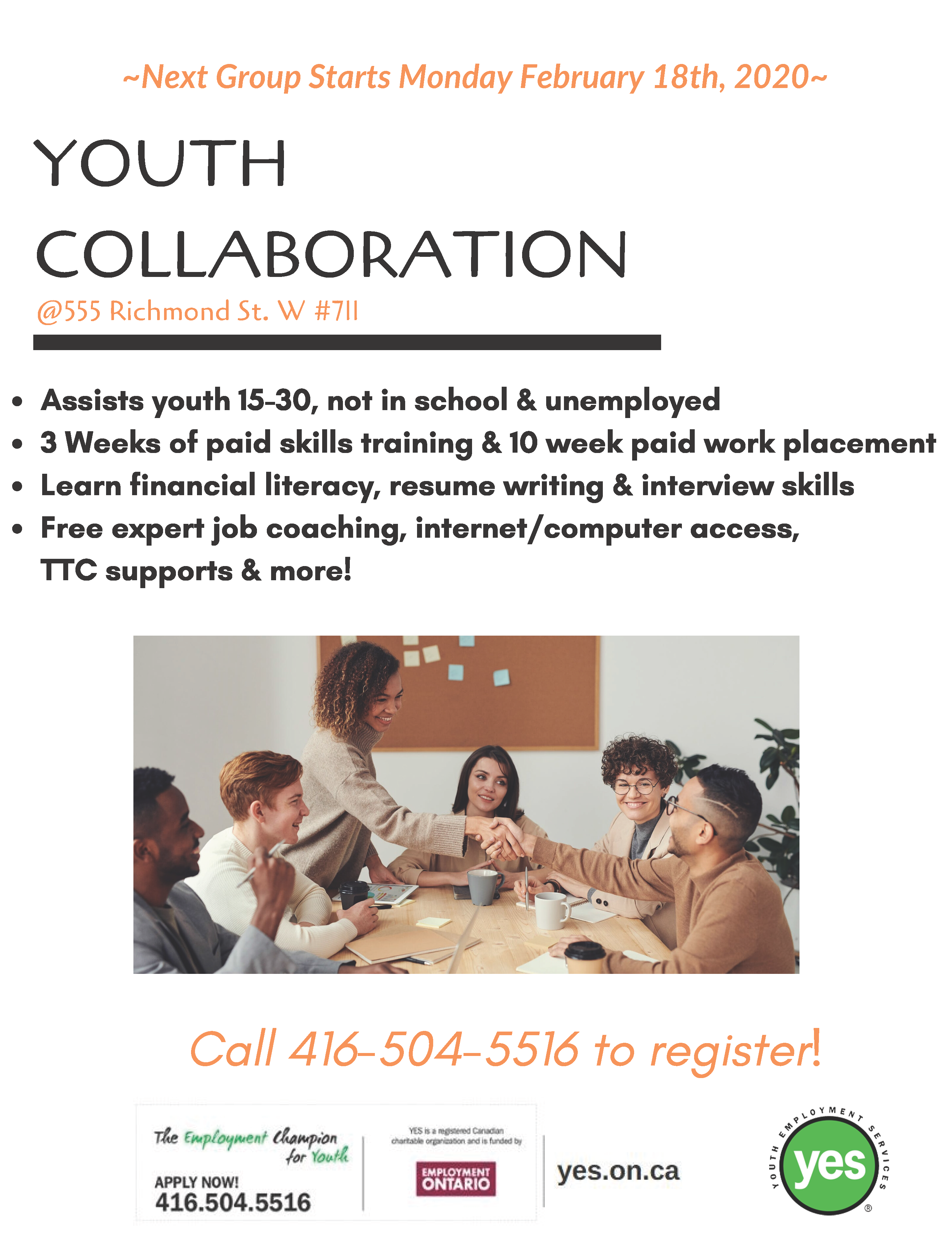 Youth Collaboration @ Youth Employment Services