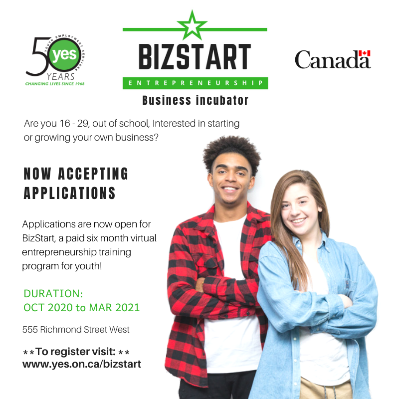 BizStart is accepting new participants