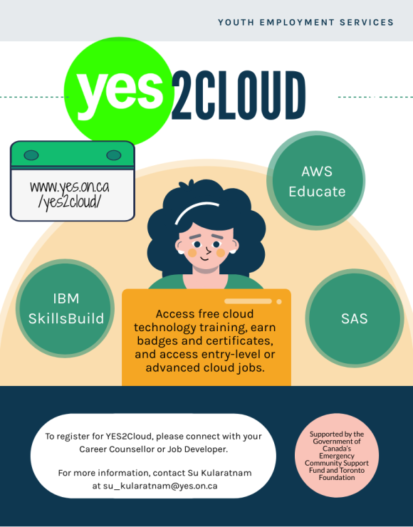 YES2Cloud Flyer