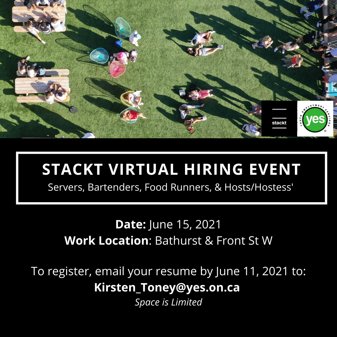 Stackt virtual hiring event @ Virtual Hiring Event